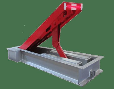 Model 833 Ultra-Shallow Mount Wedge Barrier